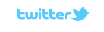 Light blue Twitter logo