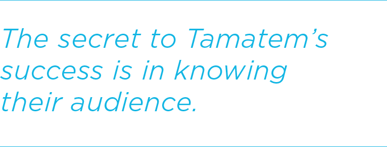 The secret to Tamatem's success is in knowing their audience.
